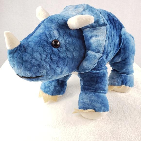 Blue Big Teddy Bear, Hugfun Other Large Hugfun Triceratops Plush 22 Long Dinosaur Poshmark